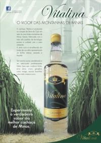 Cachaça Vitalina - anúncio