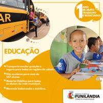Prefeitura de Funilândia - anúncio